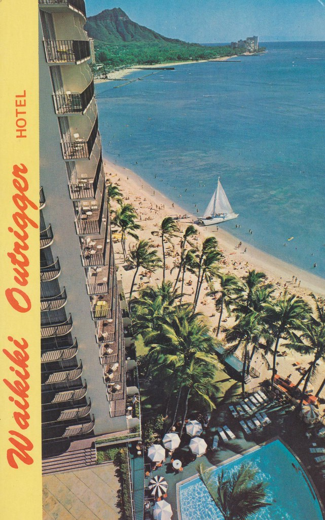 Outrigger Hotel - Honolulu, Hawaii