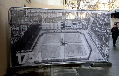 Plan for Leicester Square back in 1754 | by Abi Skipp
