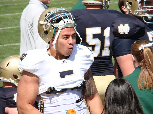Manti Te'o | by Hoosierguy Jeff
