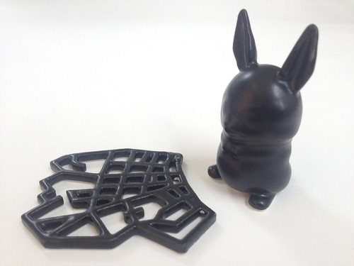 Satin Black 3D Printed Ceramics at Shapeways | by Shapeways: