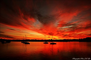 Sydney sunset | by Jong Soo(Peter) Lee