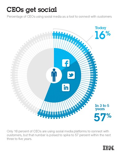 IBM Infographic on Social CIOs | by Mark Fidelman