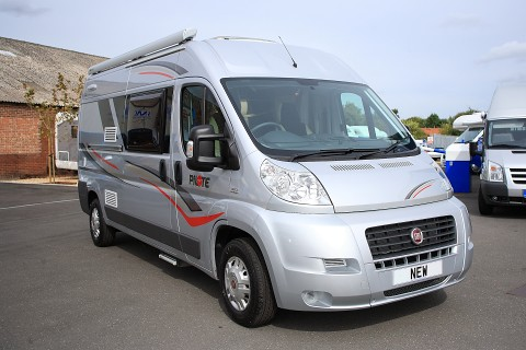 The Pilote F60S Panel Van Conversion Offers A Fixed Bed And Huge Garage Area