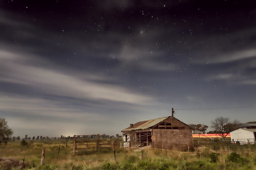 Farmhouse in the moonlight (Explored 31 May 2012) | by Indigo Skies Photography