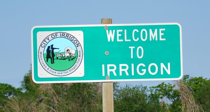 Welcome to Irrigon