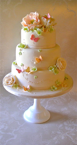 peach wedding cake gallery pink and green wedding cake lynette horner flickr 18146