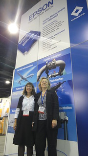 Epson Electronics at Sensors Expo 2012 | by MEMSIndustryGroup