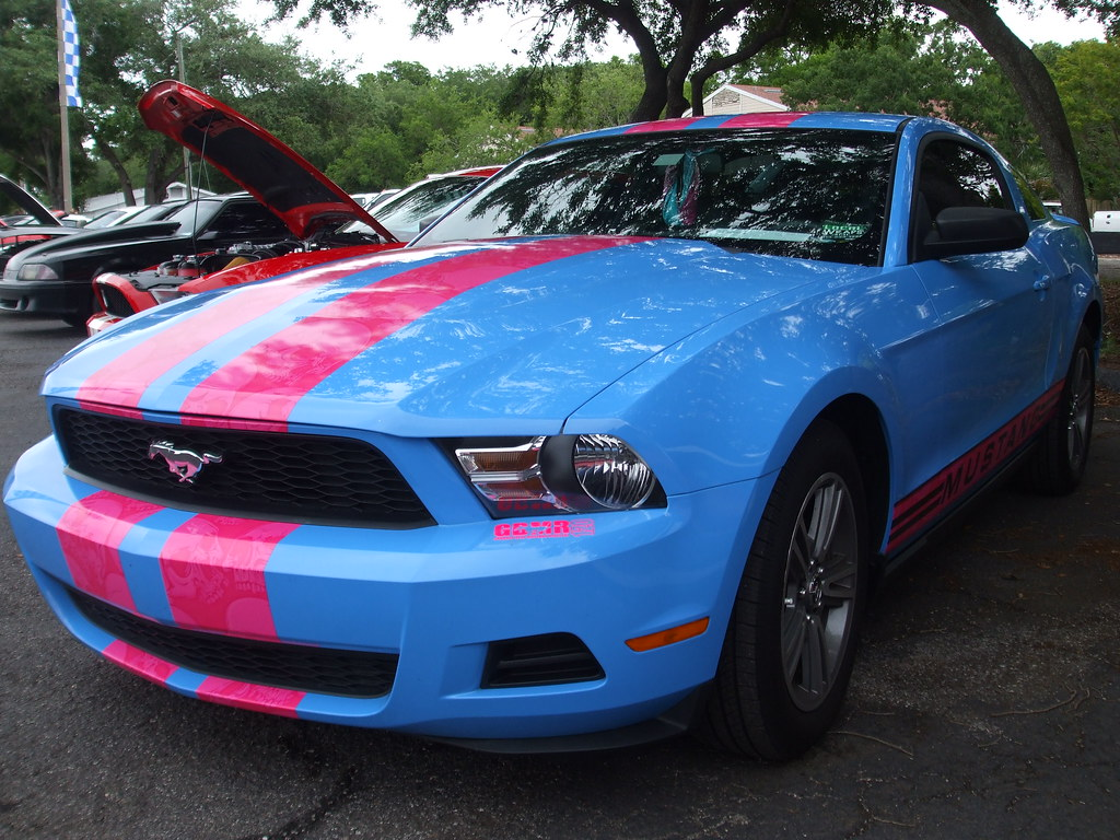 2010 ford mustang grabber blue mustang registry gbmr 120 by michel curi
