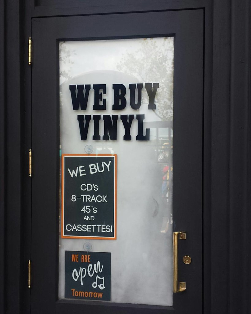 They buy #vinyl #cds and #cassettes and they are open  #ol