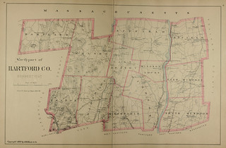 Page 36 and 37 of Town and city atlas of the State of Connecticut. / Compiled from government surveys, county records and personal investigations | by uconnlibrariesmagic