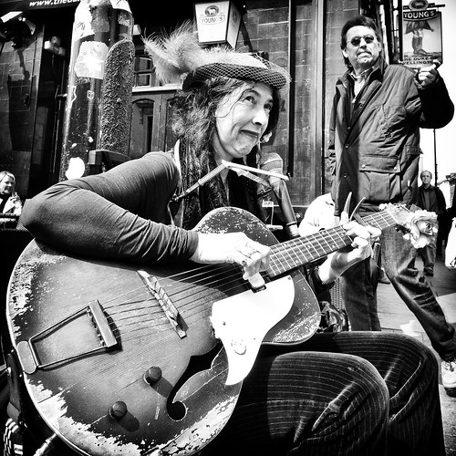 Portabello Road Street Performer | by game1980