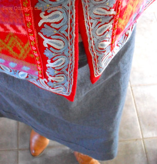 Cardet & Skirt Details | by Re-inventing Fashion