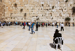Sitting, Wailing Wall | by leighashleywood