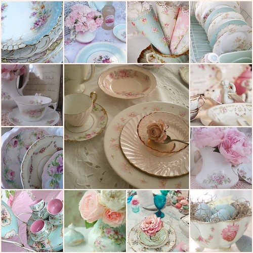 ~TILT..Floral China.. | by ~Romantic~Vintage Home~