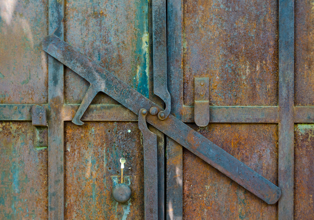 Gold Country Door Latch Columbia California Is A Preserve Flickr