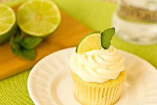 Mojjito Cupcakes – Lime, mint and rum! | by Brown Eyed Baker