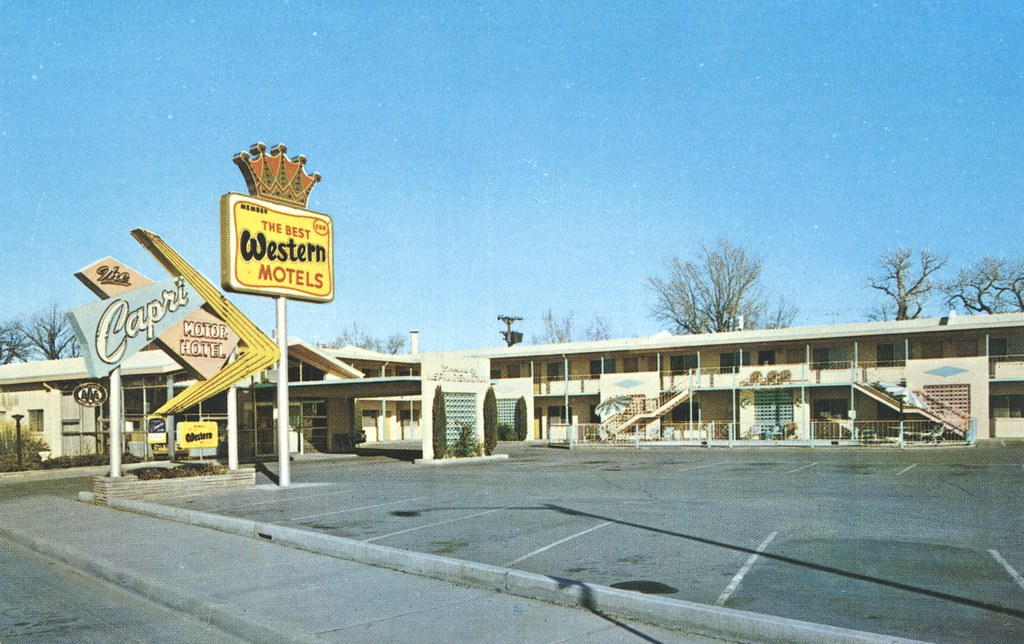 Capri City Center Motor Hotel - Albuquerque, New Mexico