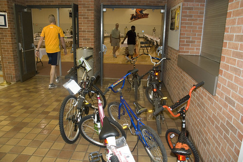 Bicycle giveaways | by Baker University