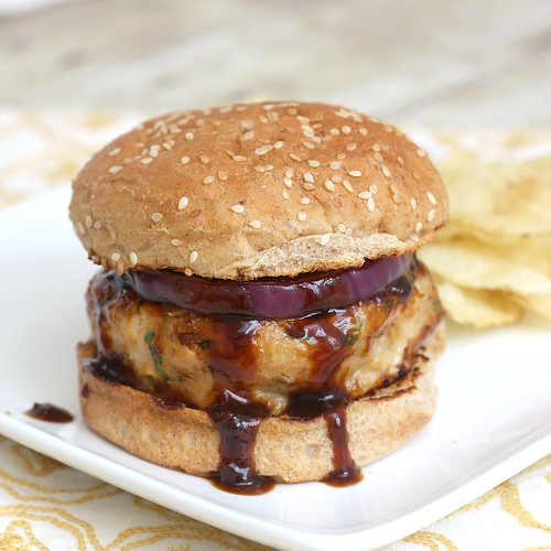 Barbecue Chicken Burger | by Tracey's Culinary Adventures