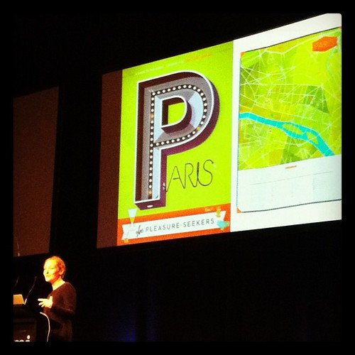 Kelli Anderson obsessed with maps at #spsyd - geekin out awesome styles! | by Miss Blimey