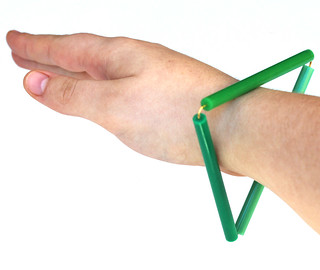 Triangle Bangle | by Plastic Girl