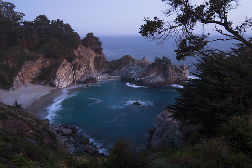 McWay Falls After Sunset | by Andrionni Ribo