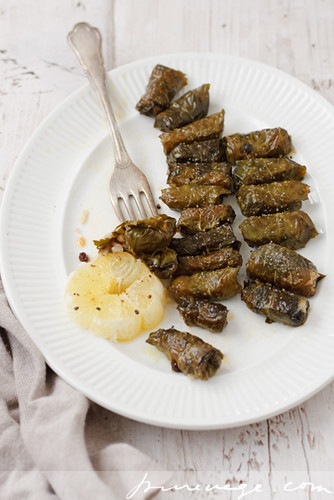Stuffed Blackcurrant Leaves | by Laksmi W