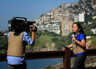 reporter cinegrafista