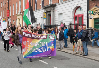 PRIDE PARADE AND FESTIVAL DUBLIN 2016 [PEOPLE BEFORE PROFIT]-118208 | by infomatique