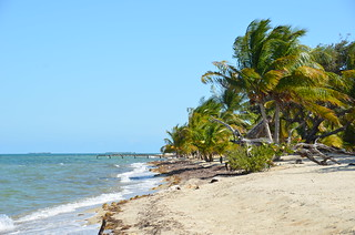 Beach in front of Casa Nettuno, Placencia, Belize | by Photo Twister