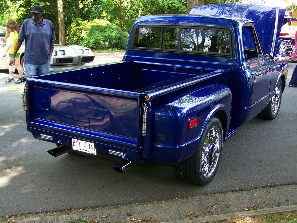 Blue 1968 Chevy C10 1 Pete Stephens Flickr Pickup Truck By Classicfordz