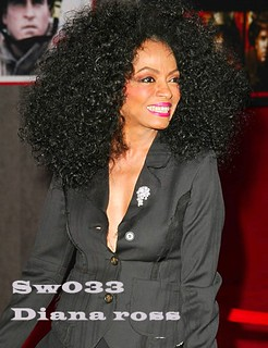 sw033 kinky curl Diana Ross full lace wigs with video | Flickr