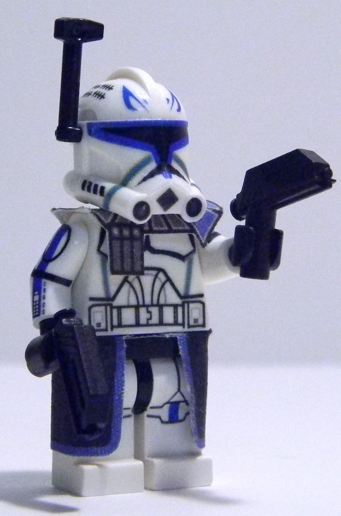 Custom LEGO Phase 2 Captain Rex from Season 4 | This is my c… | Flickr