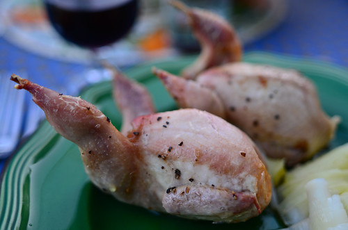 July 8th - Roast Quail at Home with Mum and Dad | by The Hungry Cyclist