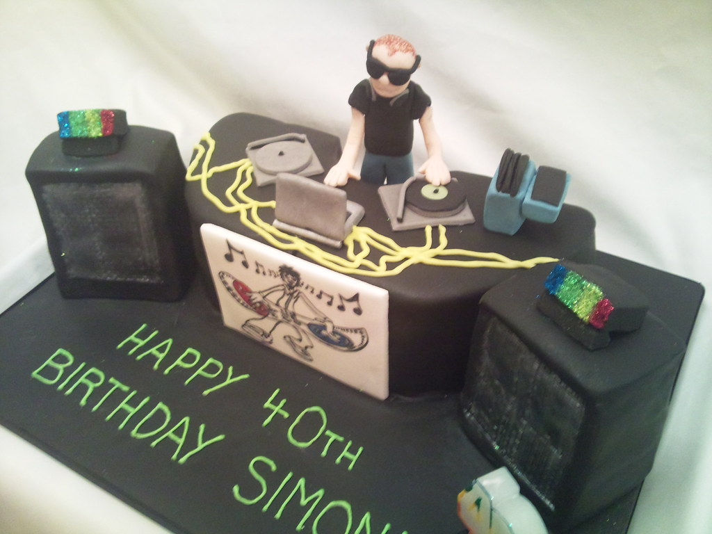 Dj Cake Flos Cakes Flickr