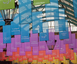 Covent Garden Olympic Flags... | by Lady Haddon