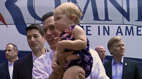 Mitt Romney and Paul Ryan in Ashland today | by tvnewsbadge
