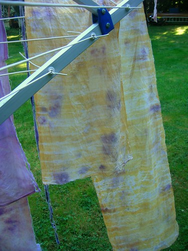 eco dyeing | by woolbrain knitter