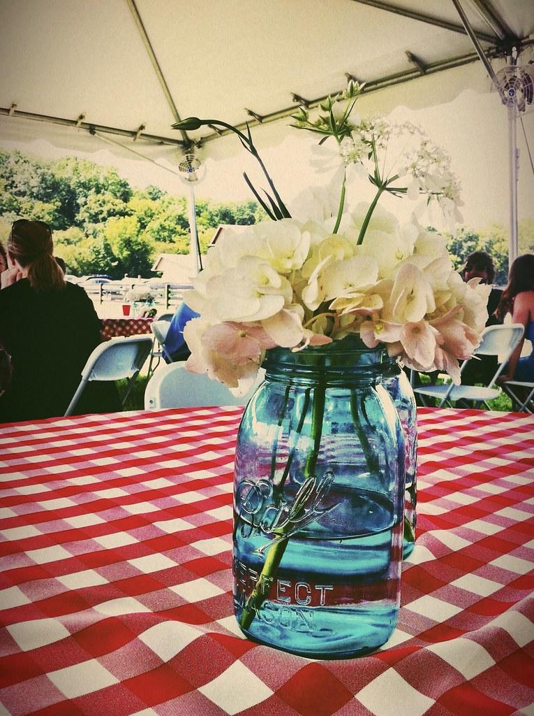 Southern Summer Wedding Reception Amy Allmand Flickr