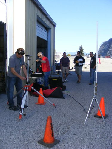 Testing the ground base station systems | by Surprise Valley UAS