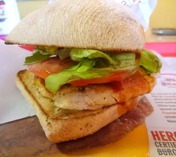 Wild Alaskan Salmon Fillet Burger