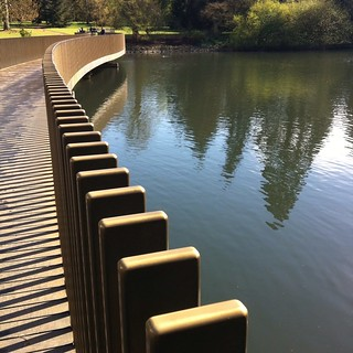 Kew Gardens Sackler Crossing | by lessismore