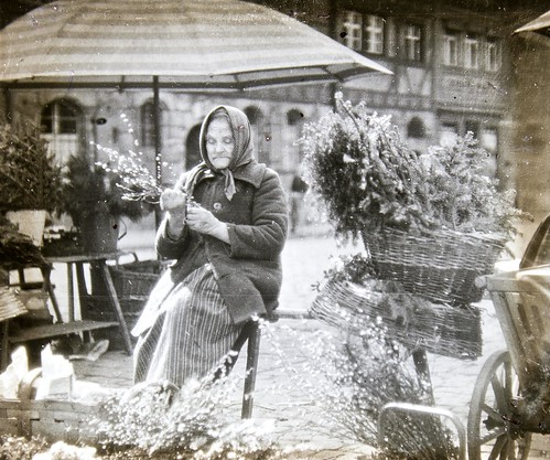 A flower seller | by Tyne & Wear Archives & Museums