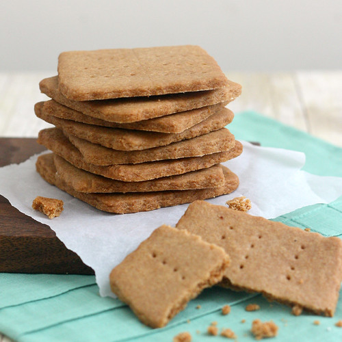 Homemade Brown Sugar Graham Crackers | by Tracey's Culinary Adventures