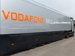 McLaren-Mercedes F1 Lorry | by f1jherbert