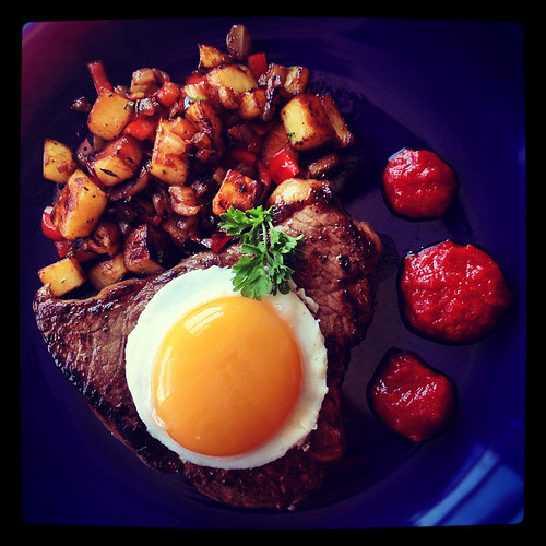 Steak and a Duck Egg | by exoskeletoncabaret