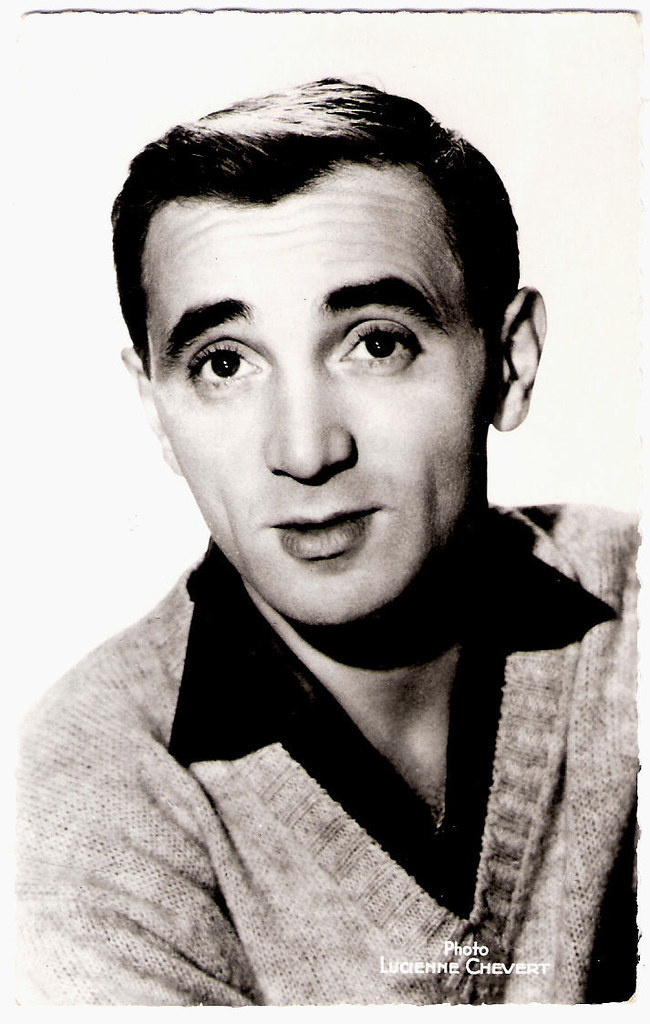 Image result for young aznavour
