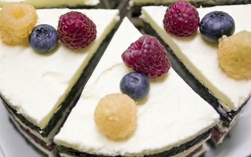 Layer Cake Framboise Ferrero Rocher