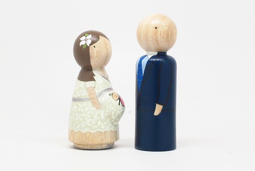 pregnant wedding cake toppers cake toppers 2 and juan donado flickr 18719