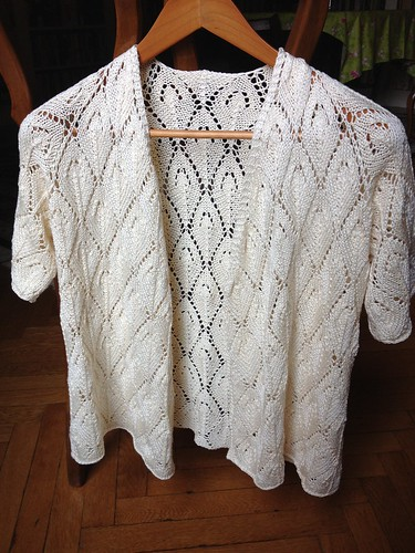 Top down lace cardigan Artyarns | by uptown_mom